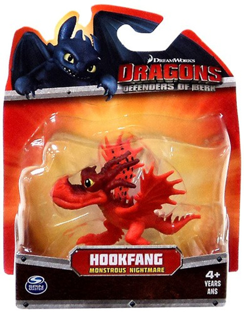 How to Train Your Dragon Dragons Defenders of Berk Hookfang 3-Inch Mini Figure [Monstrous Nightmare]