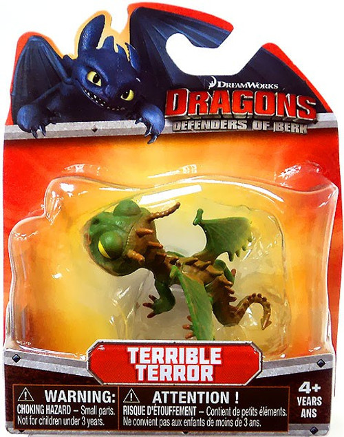 How to Train Your Dragon Dragons Defenders of Berk Terrible Terror 3-Inch Mini Figure