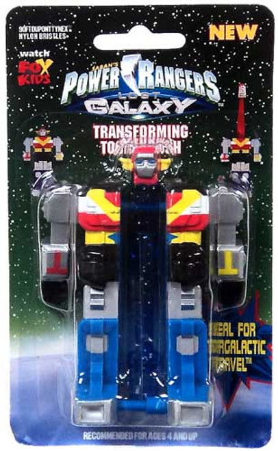 Power Rangers Lost Galaxy Transforming Megazord Toothbrush