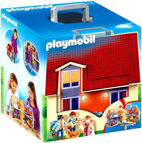 Playmobil Take Along Modern Doll House Set #5167