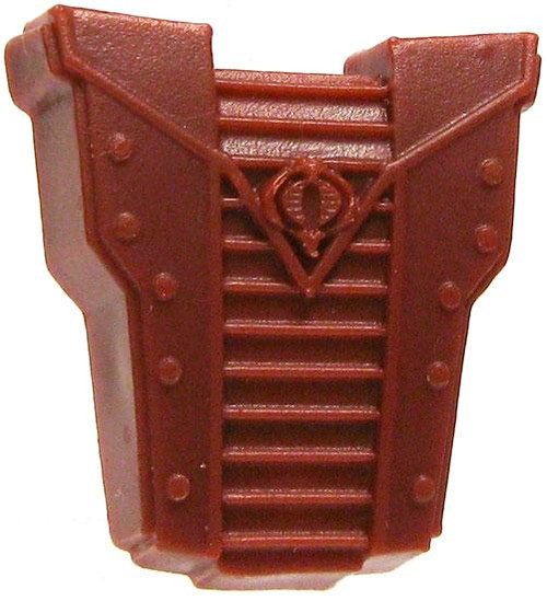 GI Joe Loose Cobra Backpack Action Figure Accessory [Dark Red Loose]