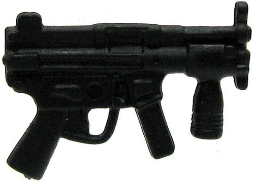 GI Joe Loose Weapons MP5 with Foregrip Action Figure Accessory [Black Loose]