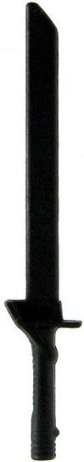 GI Joe Loose Weapons Broad Tactical Sword Action Figure Accessory [Black Loose]