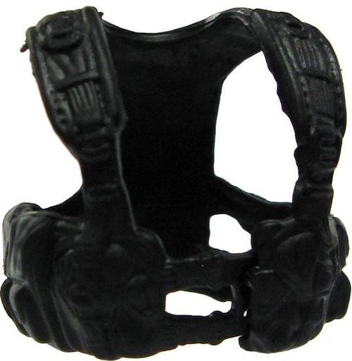GI Joe Loose Light Tactical Harness Action Figure Accessory [Black Loose]