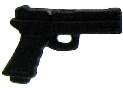 GI Joe Loose Weapons Pistol Action Figure Accessory [Black Loose]