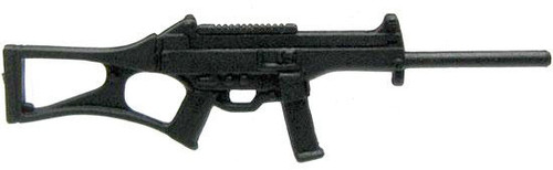 GI Joe Loose Weapons Custom Assault Rifle Action Figure Accessory [Black Loose]
