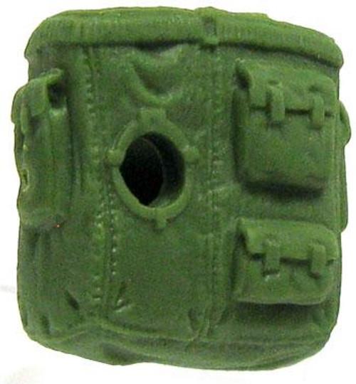 GI Joe Loose Open Backpack Action Figure Accessory [Green Loose]