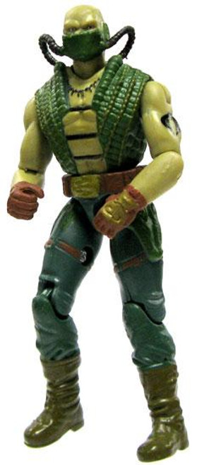 GI Joe Loose Croc Master Action Figure [Version 2 Loose]