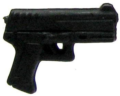 GI Joe Loose Weapons Pistol Action Figure Accessory [Black, Style 2 Loose]
