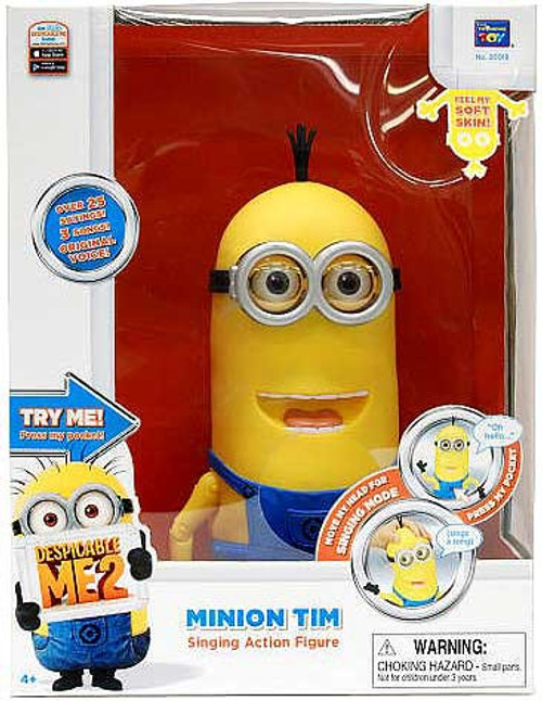 Despicable Me 2 Singing Minion Tim Action Figure