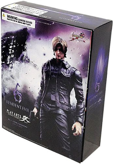Resident Evil Play Arts Kai Leon Kennedy Action Figure