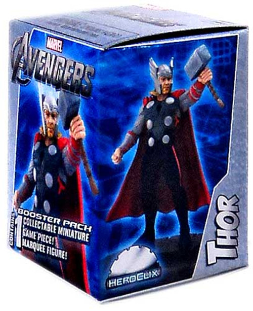 Marvel HeroClix Avengers Booster Pack [Thor Marquee Figure]