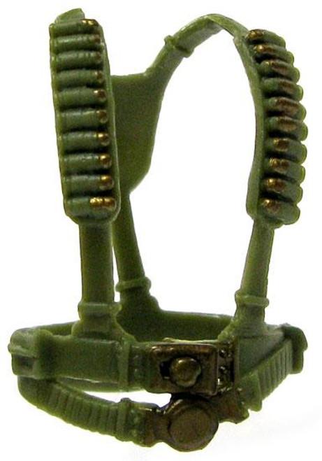GI Joe Loose Webgear Action Figure Accessory [Olive Green Loose]