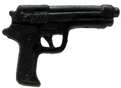 GI Joe Loose Weapons Beretta Action Figure Accessory [Black Loose]
