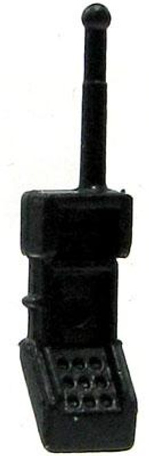 GI Joe Loose Compact Walkie Talkie Action Figure Accessory [Black Loose]