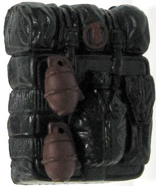 GI Joe Loose Backpack Action Figure Accessory [Black & Red Loose]