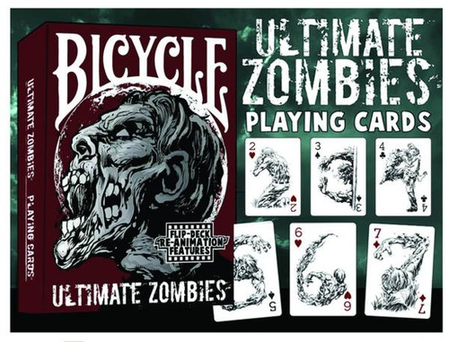 Ultimate Zombies Playing Cards
