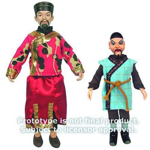 Doctor Who Li Hsen Chang & Dr Sin Action Figures