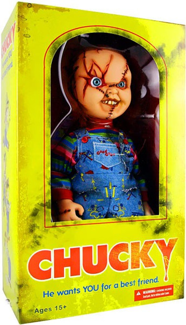 Child's Play Chucky 15-Inch Figure