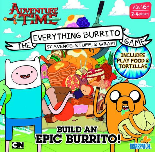 Adventure Time Everything Burrito Electronic Game