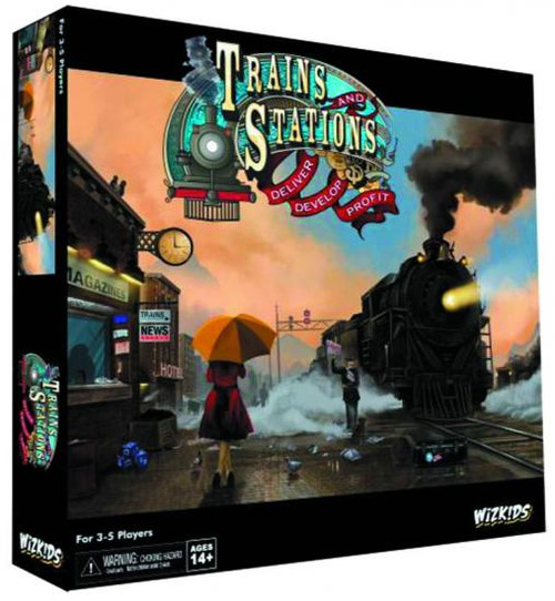Trains & Stations Board Game