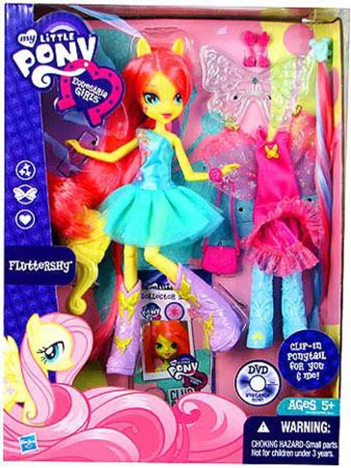 My Little Pony Equestria Girls Rainbow Rocks Deluxe Fluttershy 9-Inch Doll
