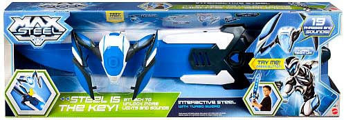 Max Steel Interactive Steel with Turbo Sword Roleplay Toy