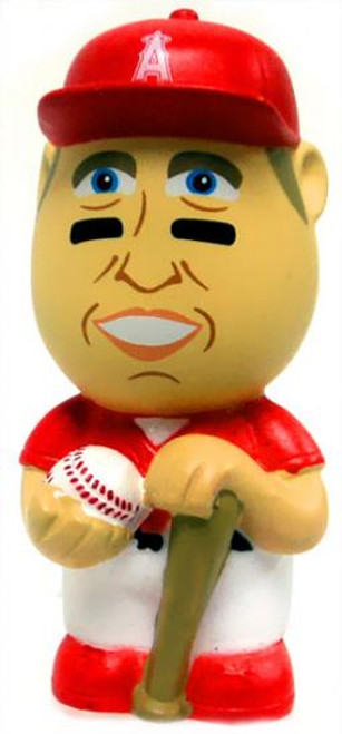 MLB Anaheim Angels Big League Minis Mike Trout Vinyl Mini Figure [Red Uniform Variant Loose]