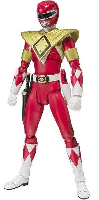 Power Rangers Mighty Morphin S.H. Figuarts Armored Red Ranger Action Figure