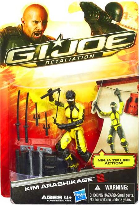 GI Joe Retaliation Kim Arashikage Action Figure