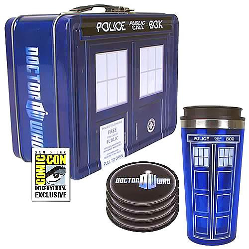 Doctor Who Tin Tote Exclusive Gift Set