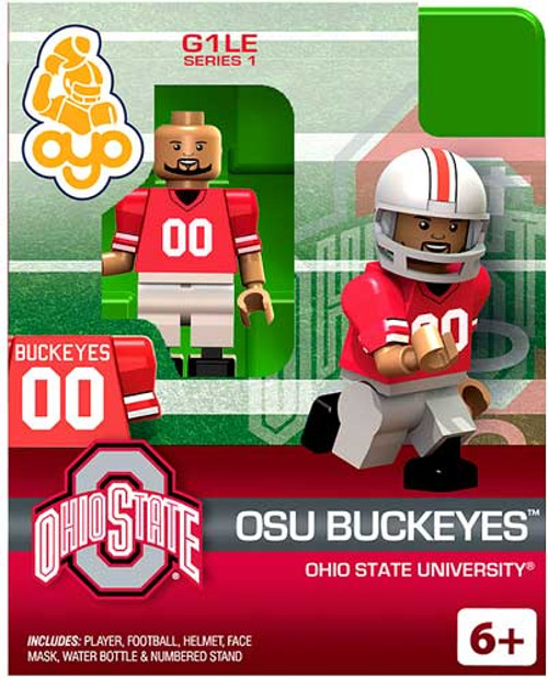 Ohio State University Buckeyes NCAA Generation 1 Series 1 OSU Buckeyes Minifigure