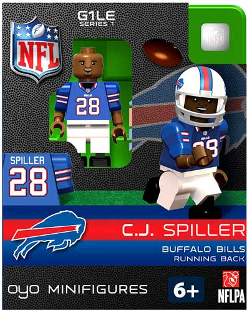 Buffalo Bills NFL Generation 1 Series 1 C.J. Spiller Minifigure