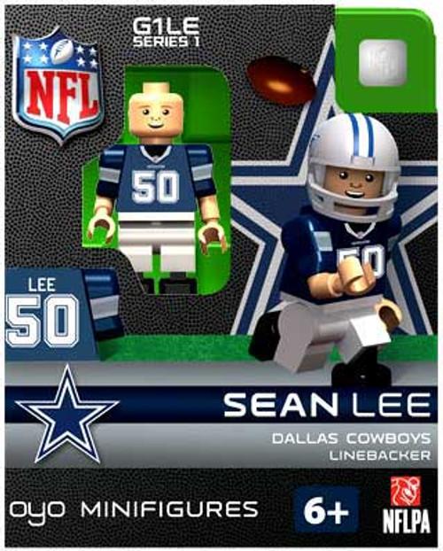Dallas Cowboys NFL Generation 1 Series 1 Sean Lee Minifigure