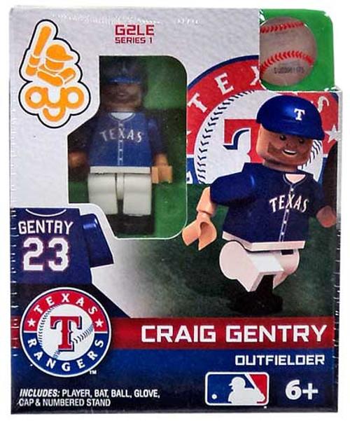 Texas Rangers MLB Generation 2 Series 1 Craig Gentry Minifigure