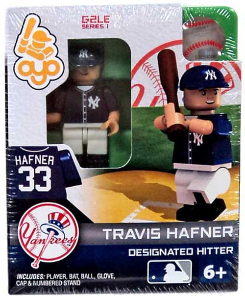 New York Yankees MLB Generation 2 Series 1 Travis Hafner Minifigure