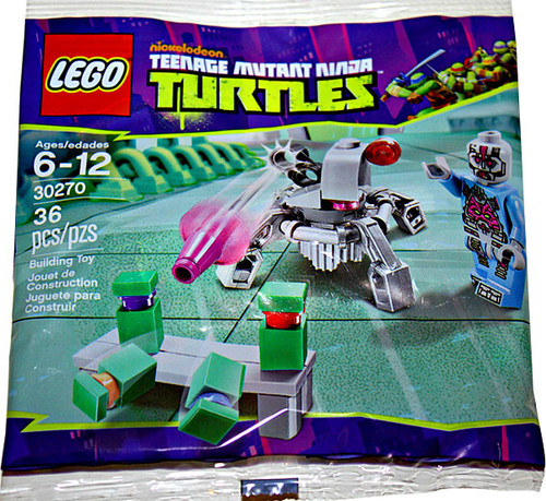 LEGO Teenage Mutant Ninja Turtles Kraang's Laser Turret Mini Set #30270 [Bagged]