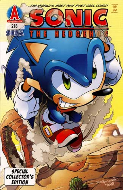 Sonic The Hedgehog Special Collector's Edition Comic Book