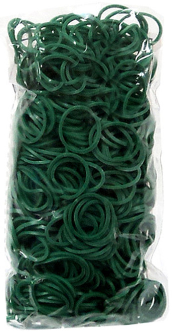 Rainbow Loom Dark Green Rubber Bands Refill Pack RL21 [600 ct]