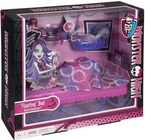 """Monster High Spectra Vondergeist """"Floating"""" Bed 10.5-Inch"""