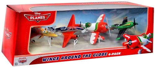 Disney Planes Wings Around the Globe Exclusive Diecast Vehicle 4-Pack