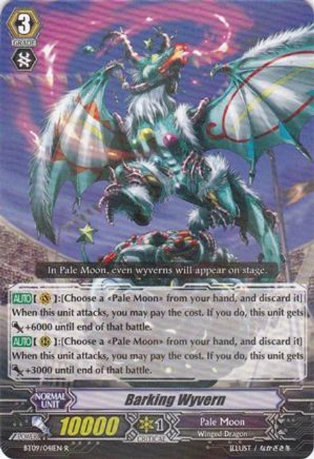 Cardfight Vanguard Clash of the Knights & Dragons Rare Barking Wyvern BT09/041
