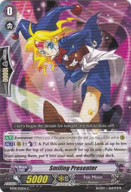 Cardfight Vanguard Clash of the Knights & Dragons Common Smiling Presenter BT09/102