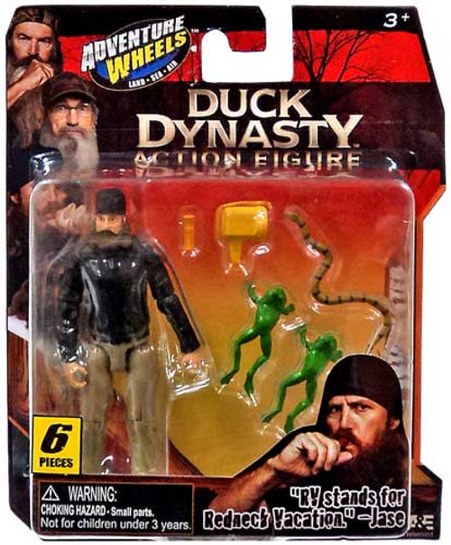 Duck Dynasty Adventure Wheels Jase Action Figure