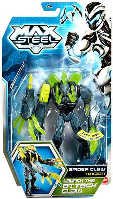 Max Steel Toxzon Action Figure [Spider Claw]