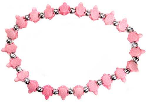 Trrtlz Pink Turtles Bracelet