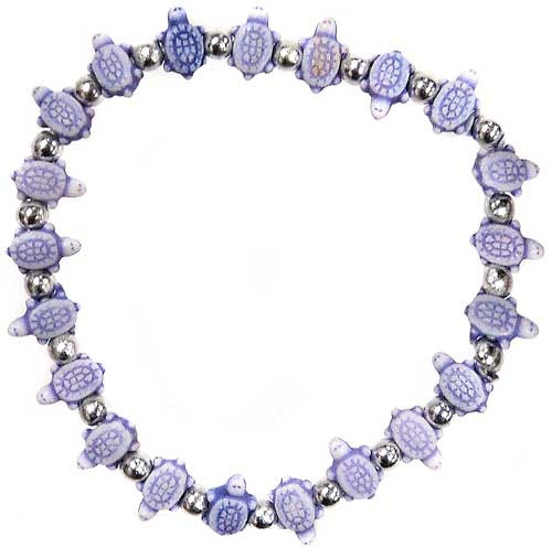 Trrtlz Purple Turtles Bracelet