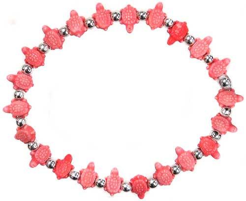 Trrtlz Red Turtles Bracelet