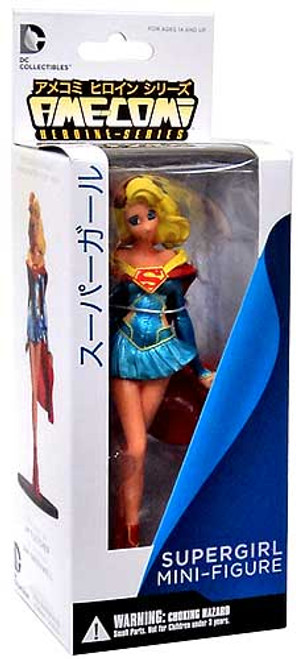 DC Ame-Comi Heroine Mini Figures Series 3 Supergirl PVC Mini Figure [Re-Release]