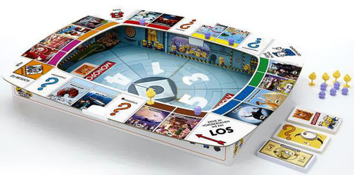 Despicable Me 2 Monopoly Board Game [No FIgures]